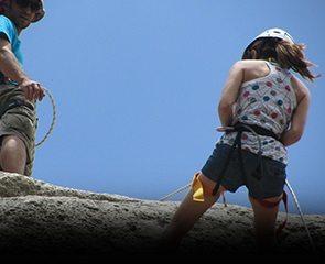סנפלינג גלישה ממצוק או גג